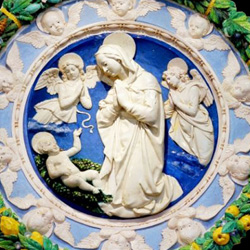 12. A Madonna from the Della Robbia workshop